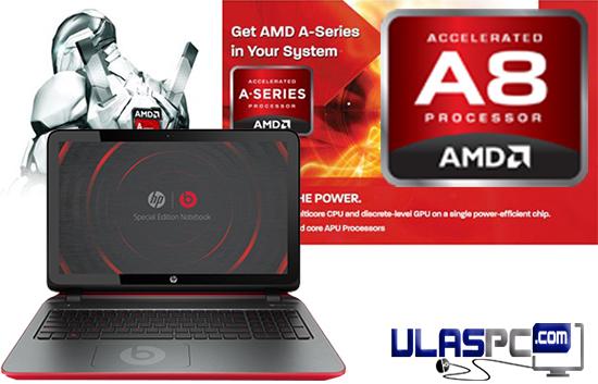 Review HP Beats 15-P017AU processor