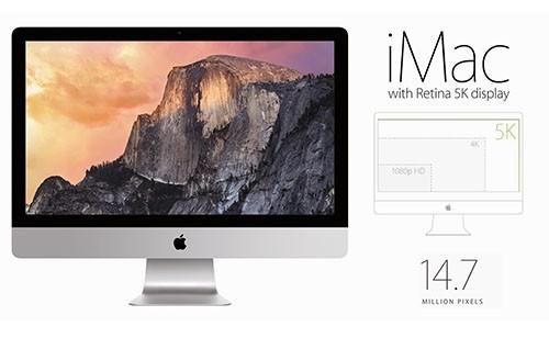 Desain iMac Retina 5K Display