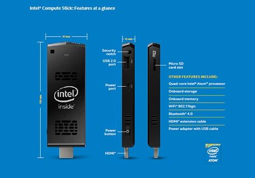 Spesifikasi Dan Harga Intel Compute Stick