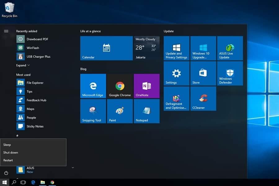Cara mematikan atau shut down komputer laptop dengan baik dan benar