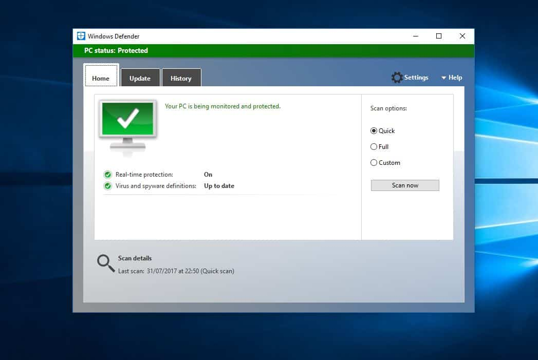 Cukupkah antivirus Windows Defender pada Windows 8 dan 10