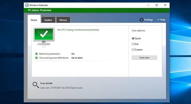 Kelebihan dan kekurangan antivirus Windows Defender