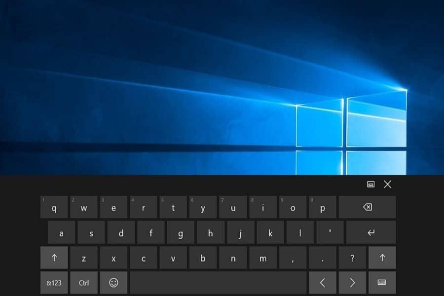 cara menampilkan On-Screen Keyboard pada Windows 10