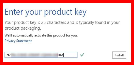 gambar product key untuk aktivasi microsoft office 2013