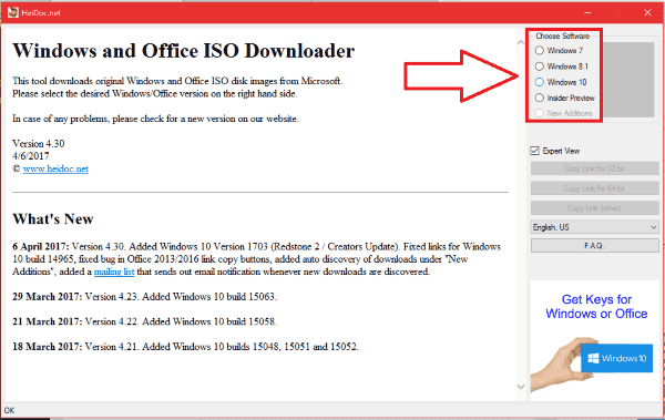 Cara Download File ISO Windows 10 dengan Downloader_1