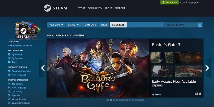 download game Steam